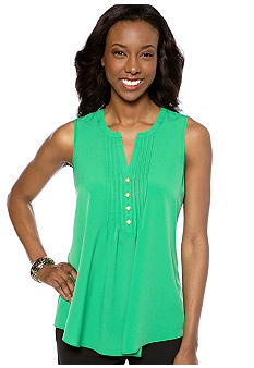 Spense Sleeveless Utility Blouse
