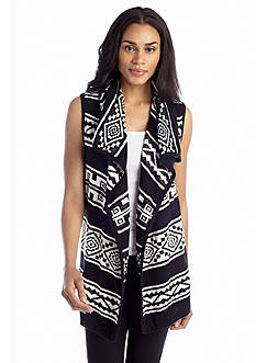 Cable and Gauge Tribal Vest