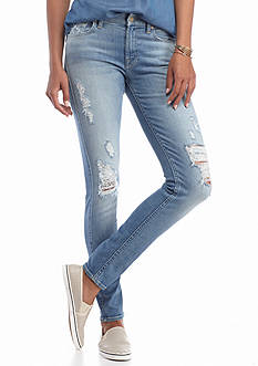 7 For All Mankind Destructed Skinny Jeans