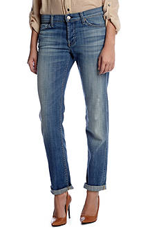 7 For All Mankind Josefina Rolled Boyfriend Skinny Jean