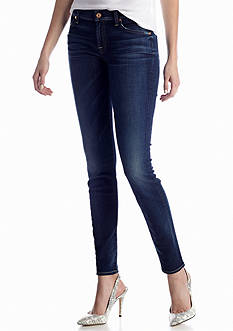 7 For All Mankind® The Skinny Jean in Monarch Blue