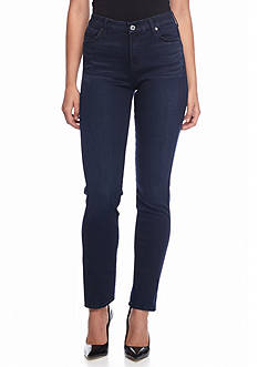 7 For All Mankind Slim Illusion LUXE: Kimmie Straight Jean