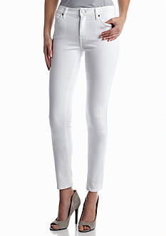 7 For All Mankind The Modern Straight in Clean White Jean