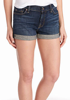 7 For All Mankind Roll Up Jean Shorts