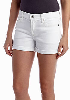 7 For All Mankind Roll Up Clean Short