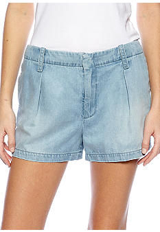 7 For All Mankind Pleated Short