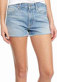7 For All Mankind Vintage Fray Denim Shorts