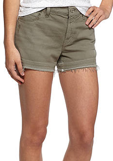 7 For All Mankind Colored Release Hem Denim Shorts