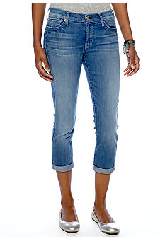 7 For All Mankind The Skinny Crop and Roll Jean