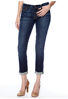 7 For All Mankind The Skinny Crop And Roll