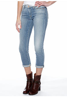 7 For All Mankind Crop & Roll Skinny Jean