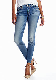7 For All Mankind® Petite Skinny Ankle Jean