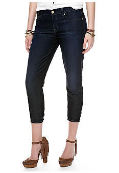 7 For All Mankind Slim Cigarette Crop