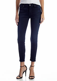 7 For All Mankind® Mid-Rise Cropped Skinny