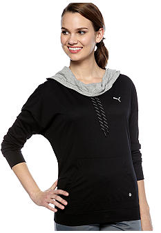 Puma Lightweight Cover Up Pullover Hoodie