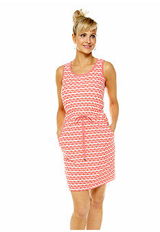 ECI Crocheted Stripe Dress