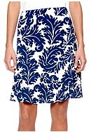 ECI Fleur Kick Pleat Skirt