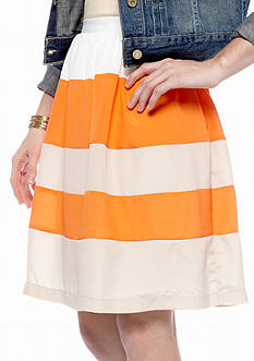 ECI Striped Skirt