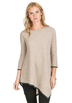 Ply Cashmere™ Handkerchief Tunic Pullover Sweater