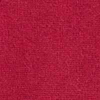 Sweaters for Women: Deep Claret Ply Cashmere™ Draped Open Front Cardigan