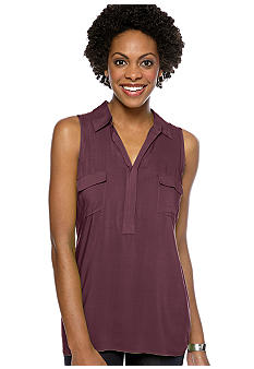 Grace Elements Utility Sleeveless Shirt