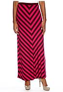 Grace Elements Stripe Maxi Skirt