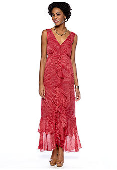 Grace Elements Ruffle Maxi Dress