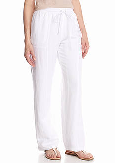 Grace Elements Solid Linen Pant