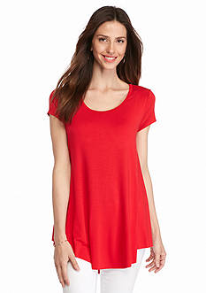 Grace Elements Draped Hem Top