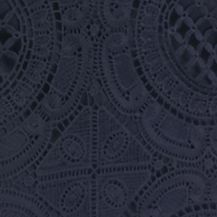 Women: Grace Elements Dresses: Night Life Grace Elements Scuba Crochet Dress