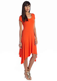 Grace Elements Short Sleeve Scoop Neck Dress