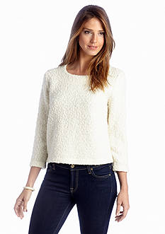 Grace Elements Boucle Button Sweater