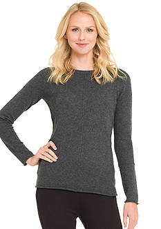 Premise Cashmere Jersey Exposed Seam Pullover