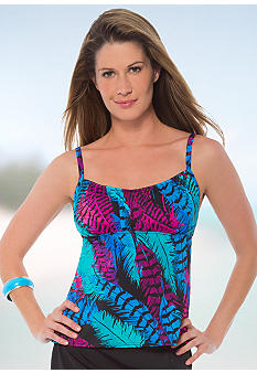 Caribbean Joe Friend of a Feather Peasant Tankini