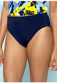 Caribbean Joe High Waisted Swim Bottom