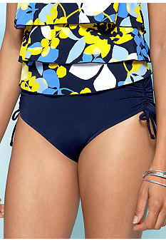 Caribbean Joe Adjustable Brief Swim Bottom