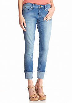YMI Wanna Betta Butt Cuff Skinny Jeans
