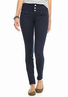 YMI 3 Button High Waist Skinny Jeans