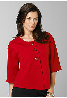 Madison 3/4 Sleeve Drop Shoulder Jacket - Belk.com