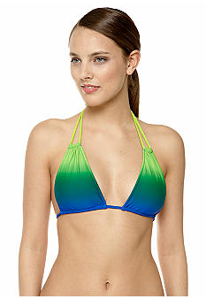 Ralph Lauren Blue Label Horizon Ombre Halter Top