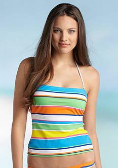 Ralph Lauren Blue Label Bold Stripe Bandokini