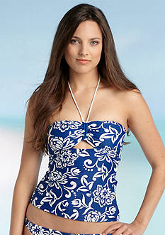 Ralph Lauren Blue Label Hawaiian Peekaboo Bandokini