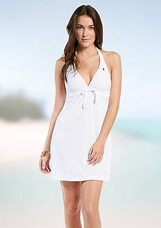Polo Ralph Lauren Terry Covers Halter Dress