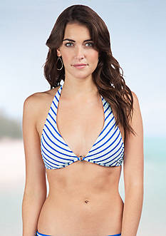 Polo Ralph Lauren Bengal Stripe Halter Top