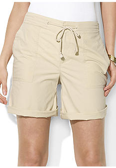 Lauren Ralph Lauren Macey Cotton Poplin Short