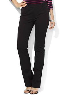 Lauren Ralph Lauren Straight-Leg Pant