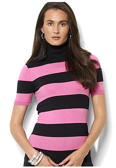 Lauren Ralph Lauren Short-Sleeved Turtleneck