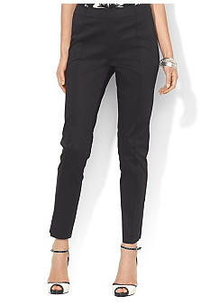 Lauren Ralph Lauren Side-Zip Ankle Pant