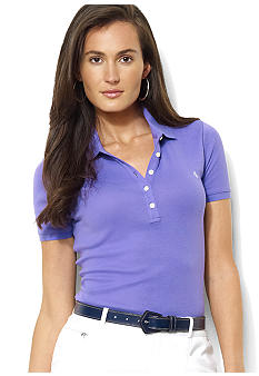Lauren Ralph Lauren Short-Sleeved Cotton Polo