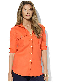 Lauren Ralph Lauren Ristow Long-Sleeved Cotton Workshirt
